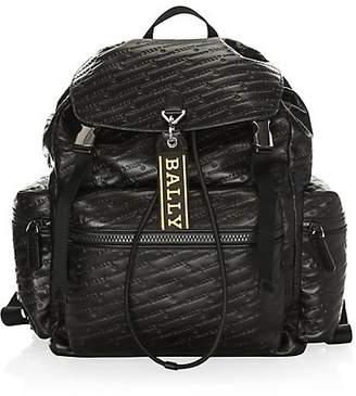 Bally Animal Print Backpack