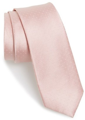 Men's The Tie Bar Dot Silk Tie $19 thestylecure.com