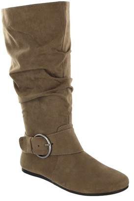 MIA AMORE Celsa Suede Side Buckle Boot - Wide Width