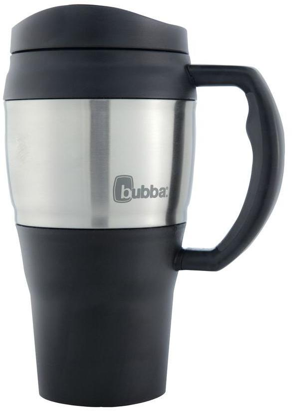 Bubba 20 oz. (591 mL) Insulated Double Walled BPA-Free Travel Mug with Stainless Steel Band