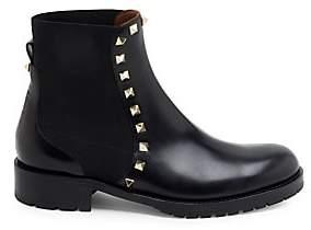 Valentino Women's Rockstud Leather Booties