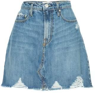 Nobody Denim Piper Skirt Decadent