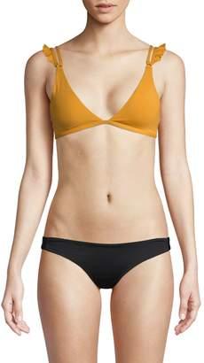 L-Space Ruffle Bikini Top