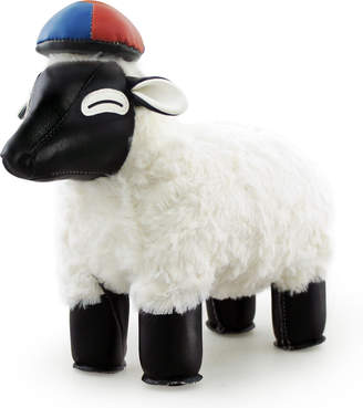 Zuny Classic Sheep /Black with White Fur