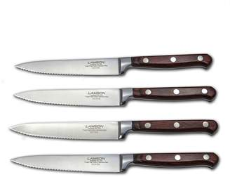 Lamson Silver Forged Steak Knives, Set of 4