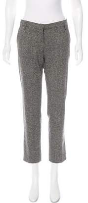 Blumarine Low-Rise Wool-Blend Pants