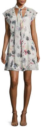 Haute Hippie Floral Printed Dress