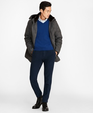 Brooks Brothers Water-Resistant Wool Down-Filled Parka