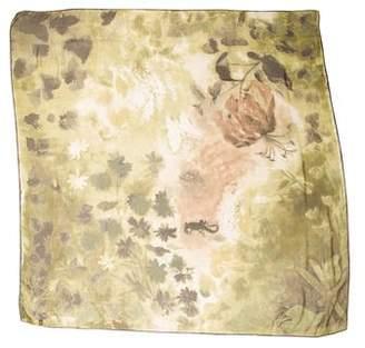 Etro Silk Floral Scarf
