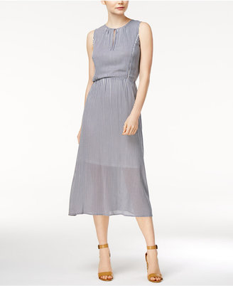 Maison Jules Pinstripe Midi Dress, Only at Macy's $79.50 thestylecure.com
