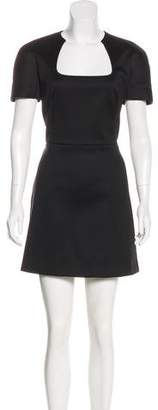 Alexander McQueen Mini A-Line Dress
