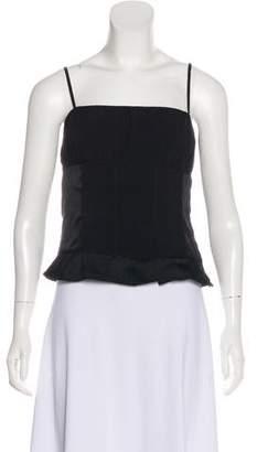 DKNY Silk Sleeveless Top
