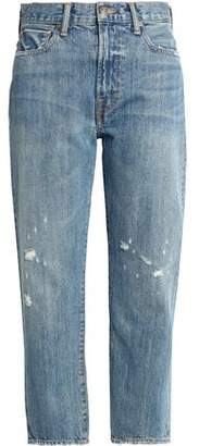 Vince (ヴィンス) - Vince. Cropped Distressed Boyfriend Jeans