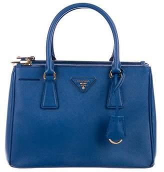 0826c612d4707 Prada Small Saffiano Lux Galleria Double Zip Tote