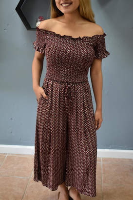 RD Style Cosette Smocked Top