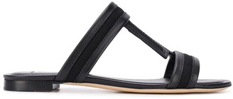 Tod's double T slides