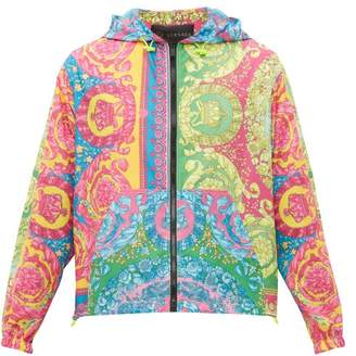 Versace Medusa And Crown Print Lightweight Jacket - Mens - Multi