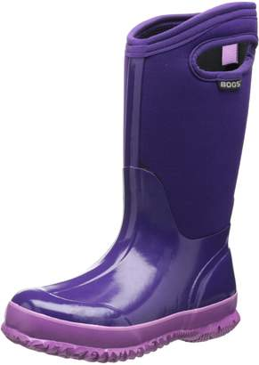 Bogs Classic Solid Waterproof Insulated Rain Boot (Toddler/Little Kid/Big Kid)