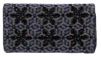 Dries Van Noten Embellished Jacquard Clutch w/ Tags