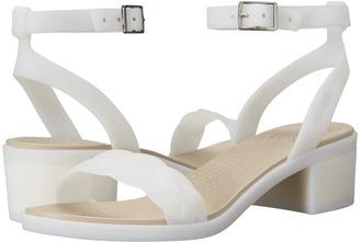 Crocs - Isabella Block Heel Women's Shoes $60 thestylecure.com