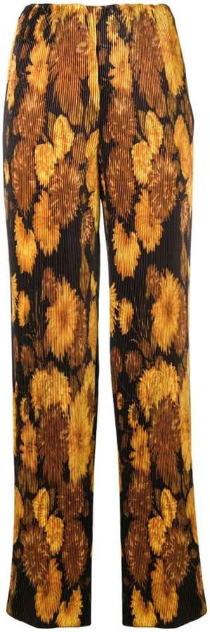 Richard Quinn printed palazzo trousers