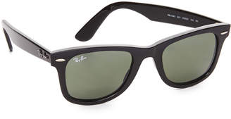 Ray-Ban Wayfarer Straight Sunglasses $150 thestylecure.com