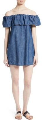 Women's Soft Joie Nilima Chambray Shift Dress $168 thestylecure.com