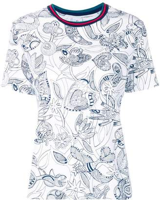 Paul Smith floral pattern T-shirt