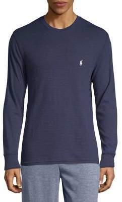Polo Ralph Lauren Waffle-Knit Crewneck Shirt