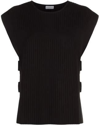 Claudie Pierlot Cut-Out Sweater