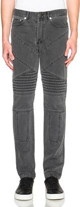 Givenchy Cuban Fit Biker Jeans $1,050 thestylecure.com