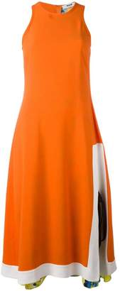 MSGM flared sleeveless dress