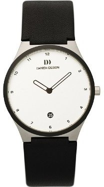 Danish Design (ダニッシュ デザイン) - デンマークデザインiv12q884ステンレススチールCaseレザーBand White Dial Ladie 's Watch by Anna Gotha