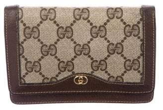 Gucci Vintage GG Plus Compact Wallet