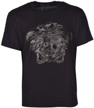 Versace Embroidered Medusa T-shirt