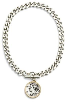 Women's Jenny Bird Arethusa Medallion Necklace $125 thestylecure.com