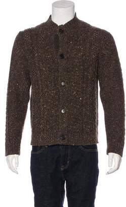 Billy Reid Camel Hair Cardigan