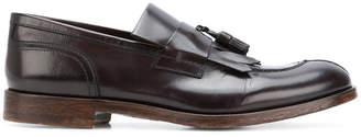 Doucal's fringed tassel loafers