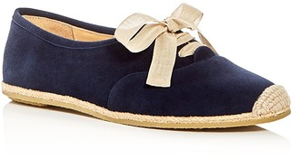 Bettye Muller Eve Lace Up Espadrille Flats $198 thestylecure.com