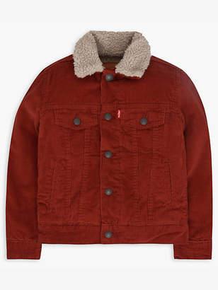 Levi's Boys 8-20 Sherpa Trucker Jacket M