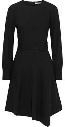Derek Lam 10 Crosby Asymmetric Draped Crepe Mini Dress