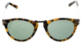 Karen Walker Helter Skelter Tinted Sunglasses