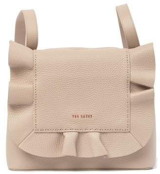 Ted Baker Rammira Small Leather Ruffle Backpack