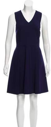 Halston Sleeveless A-Line Dress