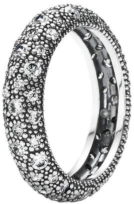 Pandora Cosmic Stars Silver Cz Ring