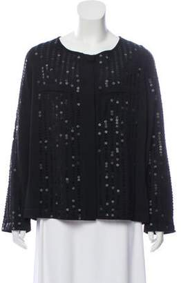 Marina Rinaldi Embellished Lightweight Cardigan Black Embellished Lightweight Cardigan