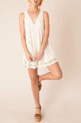 Others Follow Cream Sunglow Dress