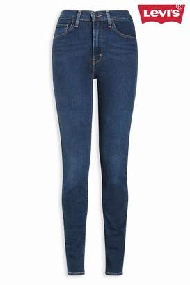 Next Womens Levi's Rinse High Rise Skinny Jean