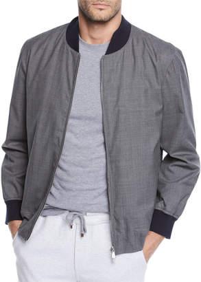 Brunello Cucinelli Men's Bomber Jacket
