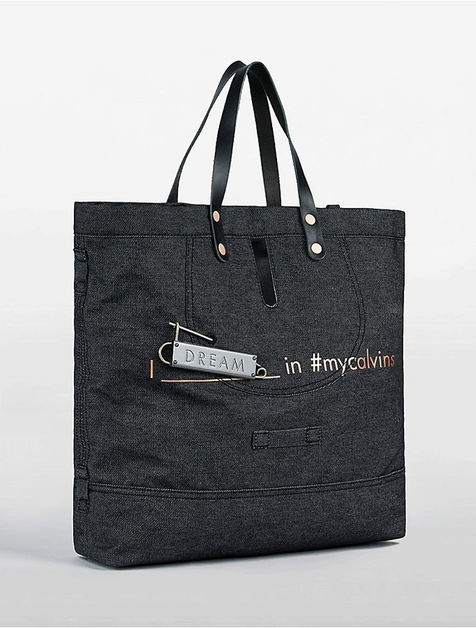 Calvin KleinDenim Dream Tote Bag